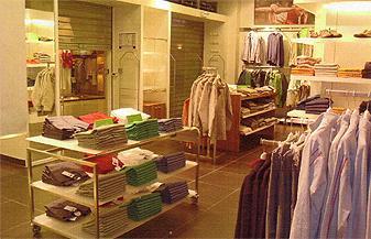 Agencement magasin de mode