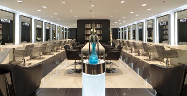 Aménagement d'un salon de coiffure