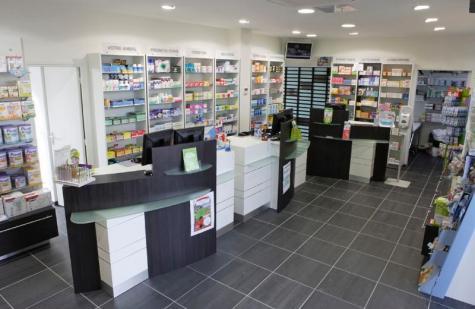 Mobilier de pharmacie